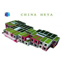 China Waterproof Flat Pack Container House , 2 Story Modular Homes Easy To Assemble wholesale