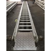 Wholesale Stainless steel boat ladder LR Approval Marine Aluminum Alloy Fixed from china suppliers