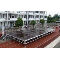 China Waterproof Movable Stage Platform , Folding Stage Aluminum T6082-T6 wholesale