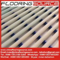 China Heavy duty PVC tube matting  made from flexible pvc tubes  dry quickly drain water wholesale