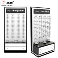China Slatwall Sunglasses Display Stands, Free Stand POP Display For Sunglasses wholesale