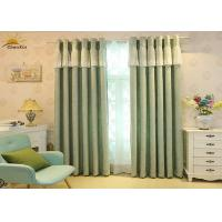 China Heavy Weight Jacquard Window Curtains For Living Room 75% - 85% Shading wholesale
