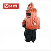 China BeiYI 300mm Prestressed Concrete Pipe Vibratory Pile Hammer High Frequency Vibratory Pile  Driver wholesale
