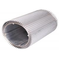 Anodizing Drilling Extruded Aluminum Heatsink Round 6063 T6
