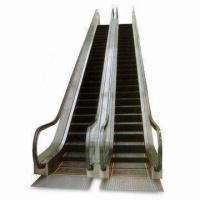 China Escalator with 7.2m Maximum Rise, 10mm Tempered Glass Balustrade, Suitable for Indoor Use wholesale