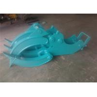 Quality Mechanical Wood Grapple Log Grapples for Excavators Kobelco SK80 for sale
