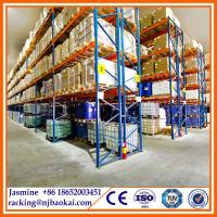 Wholesale Customized Size Heavy Duty Pallet Metal Warehouse Storage Rack from china suppliers