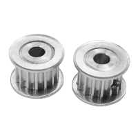 China Aluminum Alloy HTD5M 3D Printer Timing Belts Pulley 15 Tooth 8mm Bore 16mm Width wholesale