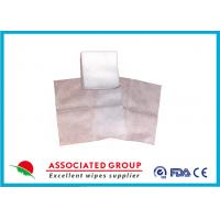 China Antibacterial Disposable Nonwoven Gauze Swabs 10 X 10 Household Size Design wholesale