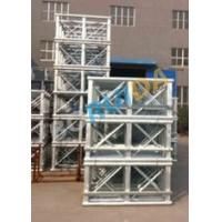China Red Painted Double Cage Man And Material Hoist 1600kg , Building Materials Lift wholesale
