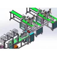 China Full Automatic Disposable Mask Making Machine Stable Control Adjustable Speed wholesale