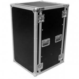 China Aluminum Moving Rack Flight Case For Camera / 18U Flight Cases wholesale