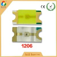 Buy cheap smd led 1206 module with super brightness color for led smd lights from wholesalers