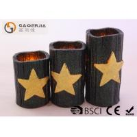 China CE / RoHS Approved Halloween Battery Operated Candles 7.5cm Diameter wholesale