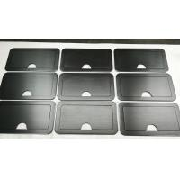 China 150 Grind on Both Side Black Anodized Aluminium Industrial Profile For Sturdy Retractable Lid wholesale