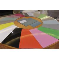 China Color Coated Aluminium Alloy Sheet , Aircraft Grade Aluminum Sheet 1mm 1.5mm wholesale