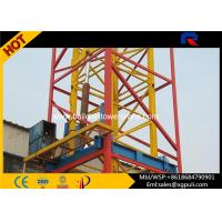 China Self Erecting Internal Climbing Tower Crane 3t 35m Jib Heavy Construction Equipment wholesale