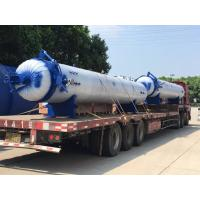Quality Automatic hot presser vulcanization tank autoclave with PLC system and cylindric for sale
