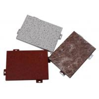 Quality Decorative Aluminium Sheet / Decorative Aluminum Panels With Marble Color Granite Color And Stone Color for sale