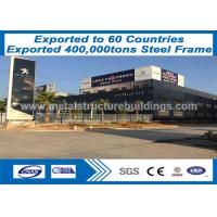 Buy cheap Long Span Steel Frame Buildings ATSM Code Satisfactory Property Of The Steel from wholesalers