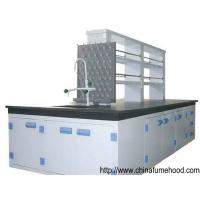 China Custom Polypropylene Laboratory Bench With PP Sink and PP Faucet on sale