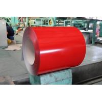 China Red HDP Paint  Prepainted Galvalume Steel Coil CGLCC For Building Materials wholesale