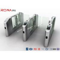 China Electronic Turnstile RFID Pedestrian Barrier Gate , Turnstile Security Systems wholesale