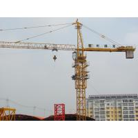 China 5 - 35 m/min Hoisting Speed Small Tower Cranes For Construction CE / ISO9001 wholesale