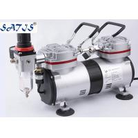 China Airbrush And Spray Gun Air Supply Mini Air Compressor 1/4HP Power Piston Type wholesale