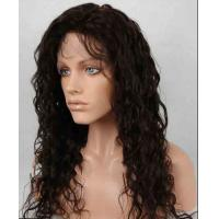 Unprocessed 100% Indian Full Lace Human Hair Wigs kinky curly With Baby Hair