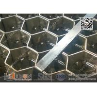 China 2.0X20X50mm 310S Hexmesh for Refractory Lining   China Hexsteel Manufacturer wholesale