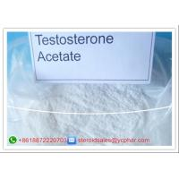 Buy cheap High Purity Testosterone Anabolic Steroid Testosterone Acetate For Muscle Building from wholesalers