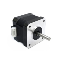 China 42BYGH34 1304B 1.8 Degree 42 Dual Shaft Stepper Motor height 34mm wholesale