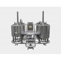 Wholesale 7 BBL Micro Brewing Equipment , Mash Lauter Tun + Kettle Whirlpool Tun , 220V / 380V from china suppliers