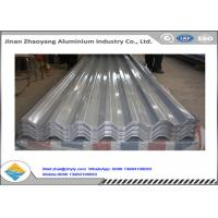 Quality 3003 3004 Corrugated Aluminum Roofing Sheet / Embossed Zinc Aluminum Roofing for sale