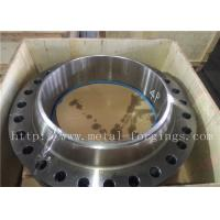Quality Non-Standard Or Customized Stainless Steel Flange PED Certificates ASME / ASTM for sale
