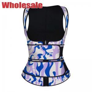 China Women'S Neoprene Sauna Slimming Waist Trainer Vest XL Plus Size wholesale