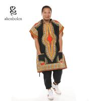 China Cotton Wax Print Readymade Maxi african styles tops mens african clothing wholesale