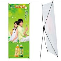 China Adjustable Roll Up Poster Stand , Aluminum Frame Trade Show Displays wholesale