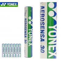 China Yonex badminton shuttlecock goose feather shuttlecocks aerosensa 30 AS-30 wholesale