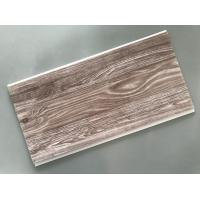 China Recyclable Brown PVC Wood Panels Easy Maintenance 2.5kg/Sqm - 3kg/Sqm wholesale
