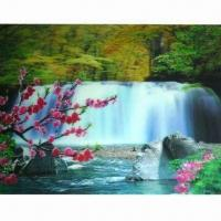 China 3D Sticker with 5 Colors Changing Effect, Made of Recycled PP, Non-toxic wholesale