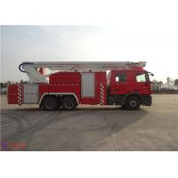 China Multi Functional Rescue Fire Truck 39 Ton Maximum Speed 104KM/H ISO9001 Certificated wholesale