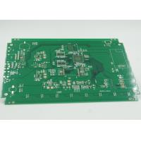 China Fiducial Mark Added Double Side PCB Gold Surface Plating PTH / NPTH Vias wholesale