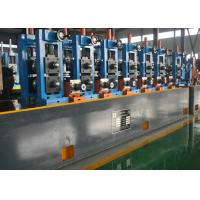 China Industrial Steel Tube Mill / Erw Pipe Making Machine 30-100m / Min Mill Speed wholesale