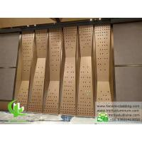 China Perforated aluminum sheet for Wall cladding metal curtain wall on sale