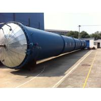 China High Temperature Wood Autoclave double Doors For wood Industrial , Φ2.7mX22M wholesale