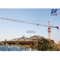 China HYCM Tower Crane TC5010 5tons Load Schneider Electric Elements Factory Cost on sale