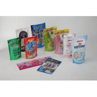 China Daily Chemical Flexible Packaging Pouches With Delicate Gravure Printing wholesale