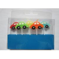 China Stylish Race Car Shaped Birthday Candles Paraffin Art Candles Decorative For Boys on sale